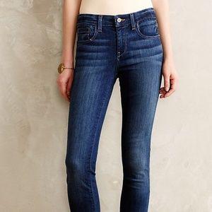 NWOT Anthropologie Pilcro Flare Jeans Slim Sz 28